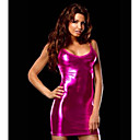 cheap Sexy Bodies-Women's Sexy Chemises & Gowns Nightwear - Sequins Solid Colored Gold Black Fuchsia One-Size