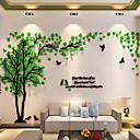 preiswerte Wand-Sticker-Dekorative Wand Sticker - 3D Wand Sticker / Spiegel Wandsticker Blumenmuster / Botanisch Drinnen / Abziehbar