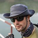 זול טסטרים וגלאים-כל העונות בז' כחול נייבי חאקי כובע עם שוליים רחבים כובע שמש קולור בלוק פוליאסטר פעיל בסיסי סגנון חמוד יוניסקס