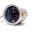 halpa Rengasmittarit-52 mm: n auton turbo-teho / psi / vesiöljyn lämpötila / paine / kierroslukumittari / voltti / tyhjiömittari