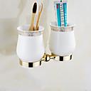 זול מחזיק מברשות שיניים-מחזיק למברשת שיניים יצירתי פליז 1pc - חדר אמבטיה מותקן על הקיר