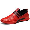 hesapli Erkek Atletik Ayakkabıları-Erkek Ayakkabı Deri İlkbahar yaz / Sonbahar Kış Klasik / Günlük Atletik Ayakkabılar Yürüyüş Dış mekan / Ofis ve Kariyer için Siyah / Kırmzı