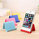 cheap Phone Mounts & Holders-Mobile phone holder desktop support plastic desktop stand candy color mini portable stand universal stand smart phone