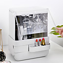 levne Ukládání šperků-kosmetické skladovací box transparentní jednoduchý velký stolní prachotěsný kryt šperky péče o pleť produkty stojan