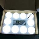 זול דלת חומרה & מנעולים-5m חוטי תאורה 10 נוריות לבן טבעי דקורטיבי 220-240 V 1set