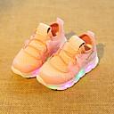 זול נעלי ספורט לילדים-בנים נעליים זוהרות בד גמיש נעלי ספורט פעוט (9m-4ys) / ילדים קטנים (4-7) לבן / שחור / ורוד קיץ / גומי