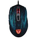 halpa TWS NTodelliset langattomat kuulokkeet-MOTOSPEED V60 Langallinen USB Optinen Gaming Mouse Moniväriset taustavalaistu 500 /800/1000/1500/2000/3000/4000/5000 dpi 8 Säädettävät DPI-tasot 7 pcs näppäimet