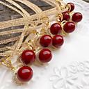 رخيصةأون السلاسل-نسائي قلائد الحلي أحمر داكن 45 cm قلادة مجوهرات 1PC من أجل زفاف خطوبة مناسب للبس اليومي