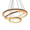 cheap Ceiling Lights-UMEI™ Circle Pendant Light Ambient Light Silver Acrylic Acrylic LED 110-120V / 220-240V Warm White / White / Wi-Fi Smart