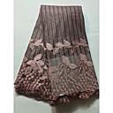 preiswerte African Lace-Afrikanische Spitze Blumen Muster 125 cm Breite Stoff für Bekleidung und Mode verkauft bis zum 5 Yard
