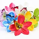 povoljno Umjetno cvijeće-Umjetna Cvijeće 10 Podružnica Klasični Vjenčanje Pastoral Style Orhideje Ljiljani Peonies Cvjeće za stol