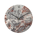 "cheap Wall Clocks-Wall Clock,Modern Contemporary Fashion Stainless steel Round Indoor 30*30cm(12""*12"")"