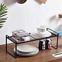 זול Racks & Holders-איכות גבוהה עם בַּרזֶל קופסאות אחסון עבור כלי בישול מִטְבָּח אִחסוּן 1 pcs