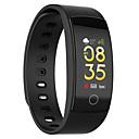 Недорогие Умные браслеты-QS80 артериальное давление сердечного ритма фитнес-трекер умный браслет водонепроницаемый умные часы мужчины для сна умный браслет