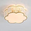 economico Applique da soffitto-5-Light Cristalli Appliques da soffitto Finiture verniciate Metallo Cristallo 110-120V / 220-240V