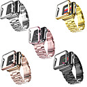 Недорогие Умные браслеты-SmartWatch ремешок для Apple Watch серии 4/3/2/1 Apple, современный пряжки из нержавеющей стали ремешок из пластика, чехлы iwatch модный ремешок
