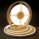 Недорогие Осветительные аксессуары-5 м 12 В силиконовые светодиодные неоновые веревочные огни гибкие водонепроницаемые полосы света для DIY крытый открытый декоративные знаки буквы