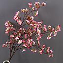 זול פרחים מלאכותיים-פרחים מלאכותיים 1 ענף יחיד מודרני עכשווי חתונה סאקורה פרחים לשולחן