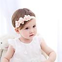זול מחזיק למברשת האסלה-מידה אחת לבן / ורוד מסמיק אביזרי שיער שיפון פרח אחיד / פרחוני פעיל / בסיסי / מתוק בנות פעוטות / עולל / תינוק