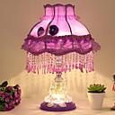 billige Bordlamper-Kunstnerisk / Moderne Moderne Ambient Lamper / Dekorativ / Smuk Bordlampe / Leselys Til Leserom / Kontor / Pigeværelse Glass 110-120V / 220-240V Rød / Rosa / Lilla