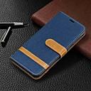 hesapli Cep Telefonu Kılıfları-Pouzdro Uyumluluk Samsung Galaxy Galaxy A7(2018) / Galaxy A10 (2019) / Galaxy A30 (2019) Cüzdan / Kart Tutucu / Satandlı Tam Kaplama Kılıf Solid Sert PU Deri