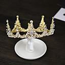 povoljno Party pokrivala za glavu-Vjenčanje / Svadba Party oprema tijare / Headpiece Metal / Kristali / Rhinestones Umjetno drago kamenje / Legura Vjenčanje