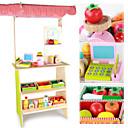 זול מטבחי צעצוע ואוכל צעצוע-משחקי דמויות חמוד צעצועים מוזרים עבודת יד עץ ילדים פעוטות כל צעצועים מתנות 18 pcs