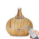 olcso Aromaterápiás befúvók-400 ml-es távirányító háztartási némító aromaterápiás gép üreges, hét színű átlátszó ultrahangos porlasztó légnedvesítő