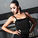 povoljno Odjeća za balet-Latino ples Majice Žene Seksi blagdanski kostimi Spandex S resicama Bez rukávů Top