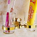 זול מחזיק מברשות שיניים-מחזיק למברשת שיניים רב שימושי עכשווי מתכת 1pc מותקן על הקיר