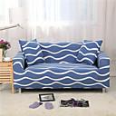 זול Soap Dispensers-ספה כיסוי כחול ים גל להדפיס מודפס פוליאסטר slipcovers
