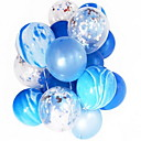 זול בלונים-קישוטים לחג חגים ומועדים חפצים דקורטיביים מודרני, חדשני כחול 2pcs
