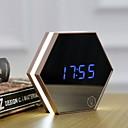 זול שעונים מעוררים-שעון מעורר דיגיטלי פלסטיק LED 1 pcs