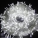 זול רצועות נורות LED-20 m 66ft 200 נוריות אורות מחרוזת טבילה led תאורה דקורטיבית עמיד בפני מזג אוויר לחדר שינה פטיו חיצוני מקורה בית ילדים מסיבת חג מולד חג המולד