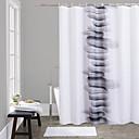 halpa Suihkuverhot-Suihkuverhot Vapaa-aika Polyesteri Tehty koneellisesti Vedenkestävä Kylpyhuone