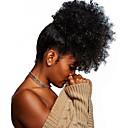 povoljno Ekstenzije od prave kose prirodne boje-Isječak U / S Konjski repići Prilagodljiv / Za crnkinje / 100% Djevica Remy kosa / Netretirana  ljudske kose Kose za kosu Ugradnja umetaka Kovrčav Cijelom dužinom Božićni pokloni / Dnevni Nosite