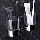 זול מחזיק מברשות שיניים-מחזיק למברשת שיניים יצירתי / רב שימושי עכשווי מתכת 1pc מותקן על הקיר