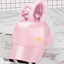 זול אספקת חומרי ניקוי למטבח-מידה אחת לבן / שחור / ורוד מסמיק כובעים ומצחיות כותנה מסוגנן אחיד וינטאג' / פעיל / בסיסי בנות ילדים / פעוטות