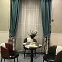 povoljno Ručni tuš-Suvremena Privatnost Dvije zavjese Zavjesa Stambeni prostor   Curtains