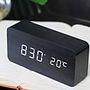 זול שעוני קיר-שעון שעון מודרני מודרני עכשווי פלסטיק מרובע
