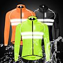 povoljno Biciklističke jakne-WOSAWE Muškarci Biciklistička jakna Bicikl Vjetronepropusne jakne Majice Vodootporno Vjetronepropusnost Prozračnost Sportski Crn / žuta / Zelen Brdski biciklizam biciklom na cesti Odjeća Odjeća za