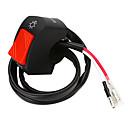 זול מפסקים לרכב-אופנוע 7/8 אינץ 'אוניברסלי הכידון הרכבה הבורר dc 12v עבור אופנוע ערפל מנורת ראש מערכת אור חשמל
