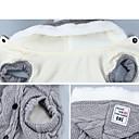 hesapli Smartwatch Bantları-Kedi Köpek Kazaklar Köpek Giyimi Solid Gri Mor Mavi Pamuk Kostüm Uyumluluk Bichon Frise Schnauzer Pekinez İlkbahar & Kış Kış Erkek Kadın's Günlük / Sade Sıcak Tutma Moda