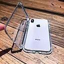 povoljno iPhone maske-kutija za jabuka iphone xs max / iphone x magnetni / prozirni sanduci za cijelo tijelo čvrsti obojeni tvrdi metal za iPhone 6 / iphone 6 plus / iphone 6s