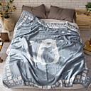 זול שמיכות וכיסויי מיטה-נוֹחַ - 1 יחידה שמיכה קיץ פוליאסטר אנימציה