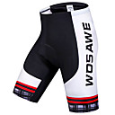 cheap Cycling Jerseys-WOSAWE Men's Women's Cycling Padded Shorts Bike Shorts Padded Shorts / Chamois Pants Breathable 3D Pad Quick Dry Sports Polyester Spandex Silicon Black Mountain Bike MTB Road Bike Cycling Clothing