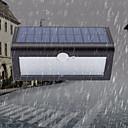 זול אורות נתיב-1pc 5 W תאורת קירות חוץ / השמש אור השמש עמיד במים / סולרי / Motion איתור צג לבן חם / לבן 5 V תאורת חוץ / בריכת שחיה / חָצֵר 38 LED חרוזים