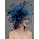 povoljno Kentucky Derby Hat-Net Fascinators / Šešir / Headpiece s Perje / Cvijet / Trim 1 komad Vjenčanje / Special Occasion Glava