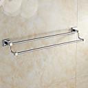 hesapli Havlu Çubukları-Havlu Çubuğu Yaratıcı Modern Pirinç 1pc - Banyo Çift Duvara Monte Edilmiş