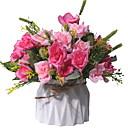 halpa Tekokukat-Keinotekoinen Flowers 1 haara Klassinen Moderni nykyaikainen Eternal Flowers Pöytäkukka